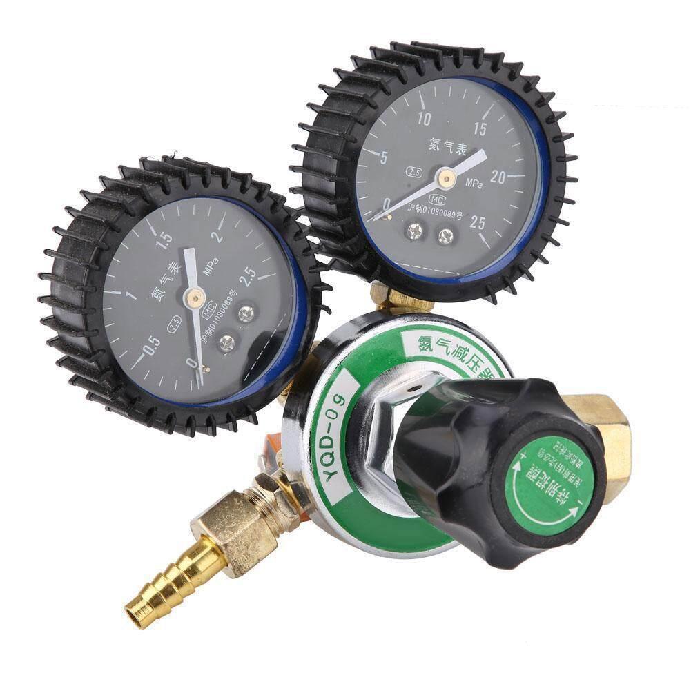 Non-slip Design Nitrogen Pressure Reducer Meter Welding Regulator Gauge G5//8 AM