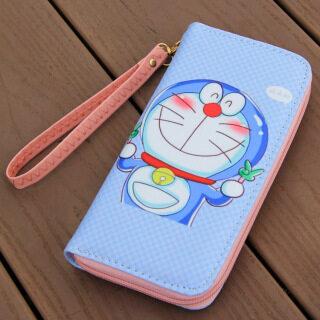 Mèo Con Doraemon Bé Trai Bé Gái Ví Khóa Kéo Hoạt Hình Mới Ví Da Pvu Sáng Tạo Cá Tính Hàn Quốc Da Dài Ví thumbnail