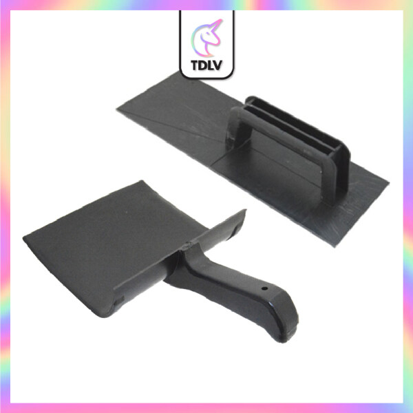 TDLV PVC Paint Tray Trowel Set Silk Plaster Liquid Wallpaper Fiber Wall Coating Wall Covering Wallpaper Decor Wall Art