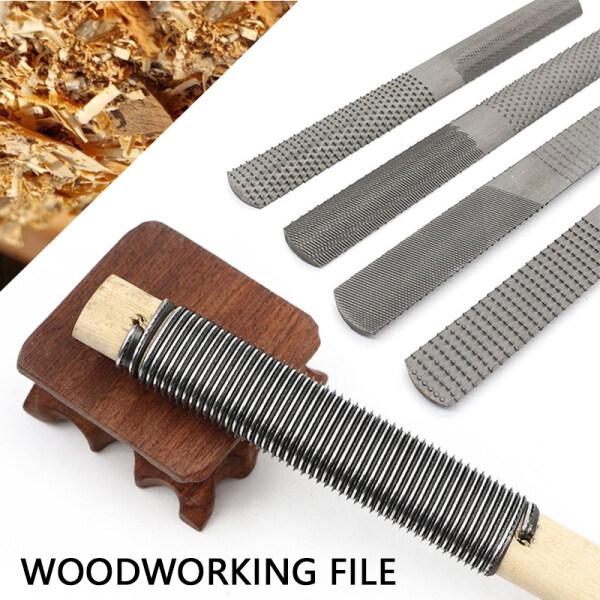 4 Way Wood Rasp File Hand File And Round Rasp Half Round Flat Wood Rasp Set For Sharpening Wood And Metal Tools