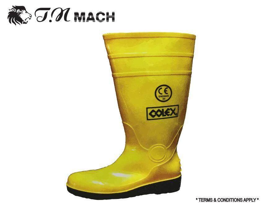 Colex wellington boot c/w mid sole (yellow) Model: RSY-9900