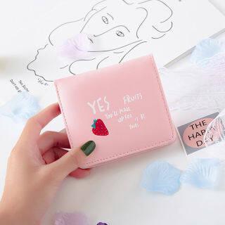 MLLT8378 Ví Mới 2021 Ví Đựng Tiền Xu Dễ Thương Hàn Quốc Cho Học Sinh Nữ Túi Đựng Tiền Xu In Hình Trái Cây Ví Thời Trang Nhiều Vị Trí Thẻ thumbnail
