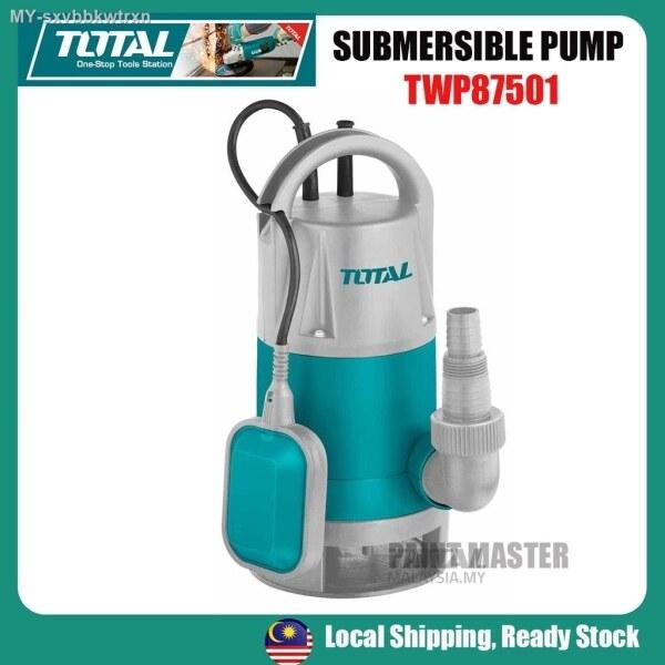 TOTAL 750W 1HP SUBMERSIBLE SEWAGE WATER PUMP (T-TWP87501)