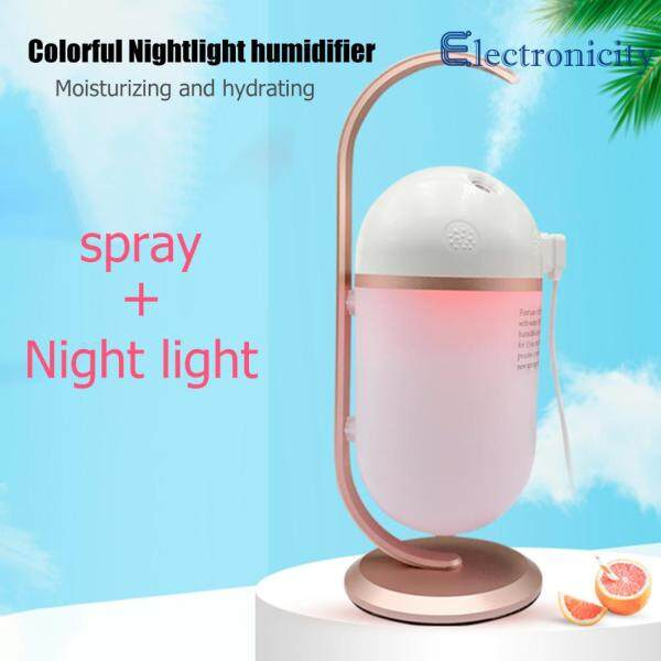 Ultrasonic Air Humidifier USB Portable Mini Aromatherapy Mist Maker Aroma Purifier for Bedroom Car Singapore