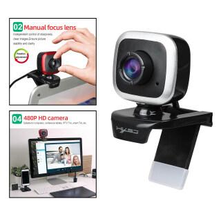 Sunnoony Camera USB Cho Máy Tính Để Bàn 480P Có Micro, Cắm Và Chạy Lấy Nét Thủ Công thumbnail