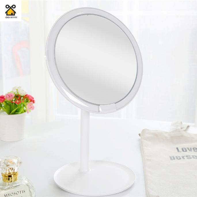 Rechargeable Brightness Adjustable LED HD Makeup Daylight Mirror