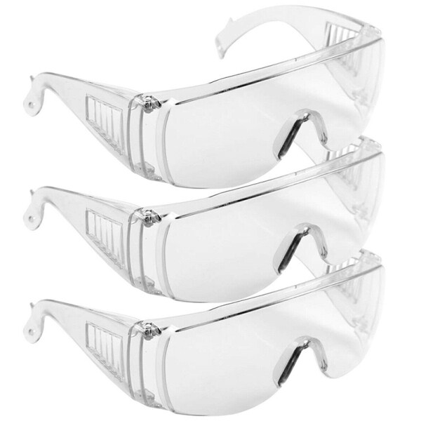 Moito Fully Sealed Safety Goggles Glasses Eye Protection Work Lab Dustproof Anti-fog