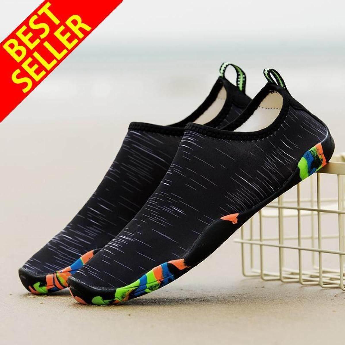 QINGSHUI 35-46 Women Men Water Sports Shoes Barefoot Quick-Dry Aqua Shoes for