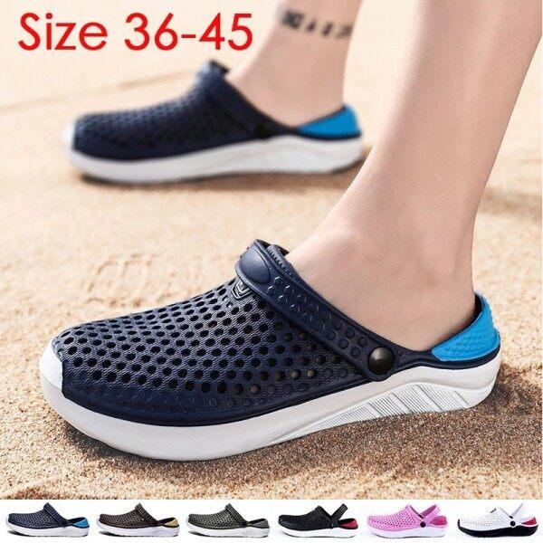 shoe cover Water Sandals Men Slides Simplicity Slippers Kasut Murah Selipar Wanita Casual Cover Toes Non-slip Slippers Non-slip