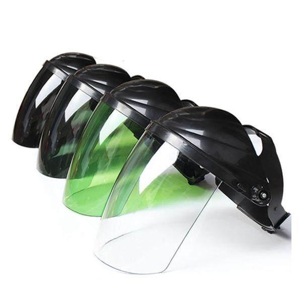 Full Face Dustproof Anti Splash Sturdy Soldering Accessories Eye Protection Transparent Lens Safety Head-mounted Working Welding Helmet
