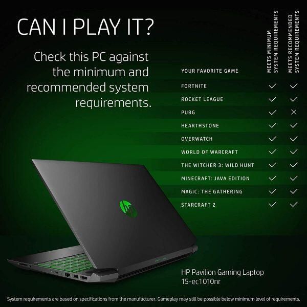 HP Pavilion Gaming 15 Laptop, NVIDIA GeForce GTX 1650, AMD Ryzen 5 4600H, 8GB DDR4 RAM, 512 GB PCIe NVMe SSD, 15.6 Full HD, Windows 10 Home, Backlit Keyboard Malaysia