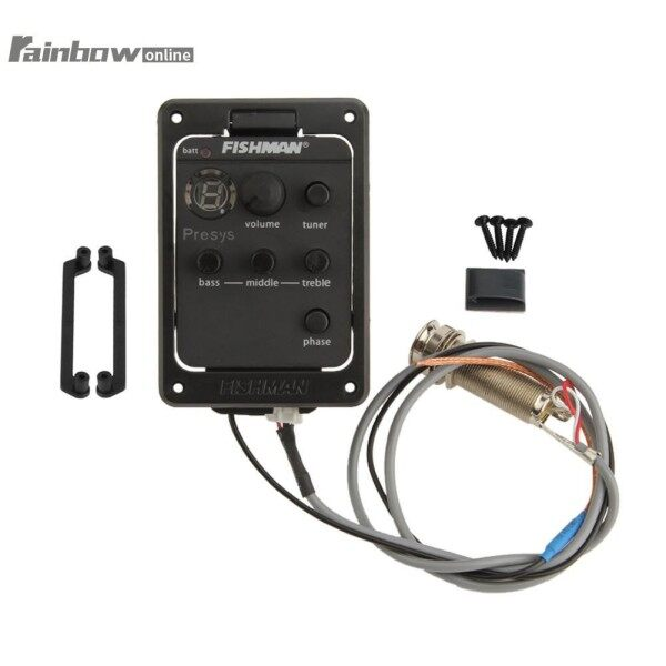 ❤RAIN❤High Quality Acoustic Guitar EQ Equalizer Onboard Preamp Pickup Tuner for FISHMAN 101 Malaysia