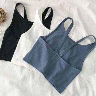 Áo Hở Eo Dệt Kim Thời Trang Mới, Áo Ba Lỗ Dây Mỏng Cho Nữ Áo Thể Thao Vest thumbnail