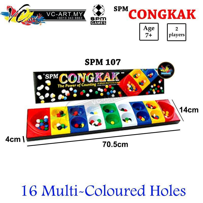 SPM 106/107 Congkak The Power of Counting 16 holes