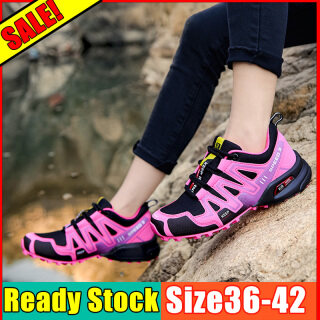 Limited Time Special hiking shoes trekking shoes climbing shoes Hiking shoes men Hiking shoes women Sneakers Camping shoes Upstream outdoor shoes waterproof original Jogging Sneakers For Girls Women Outbound thumbnail