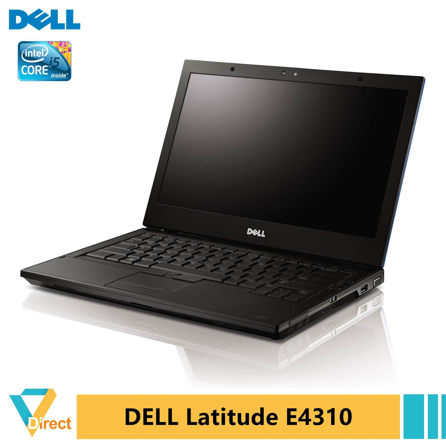 NEW BATTERY 8GB RAM 1TB SSD Core i5 Dell Latitude E4310 laptop PC  also 4GB 240GB 480GB Malaysia