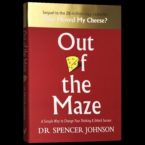 Spot New Books Out of the Maze Original English Inspirational Reading Out of the Maze Who Moved My Cheese Sequel