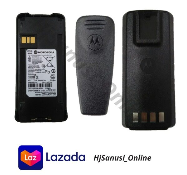 Motorola Battery PMNN4476A 7.4v rechargeable lithium lion battery For CP1300/CP1600 with beltclip Malaysia