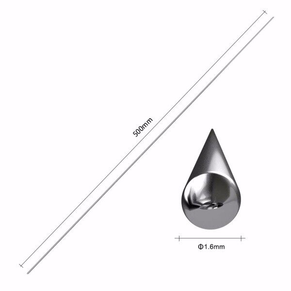 Joymo On Sale 1.6/2mm 10/20Pcs Low Temperature Easy Aluminum Welding Rods 50cm Melting Point No Need Solder Powder Welding Supplies