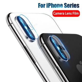 Dành Cho iPhone Xs X Xs Max 7 8 Plus Bảo Vệ Ống Kính Máy Ảnh Miếng Dán Ống Kính Mặt Sau Bằng Kính Cường Lực, Dành Cho Apple iPhone 8P 7P XR Phụ Kiện Điện Thoại thumbnail