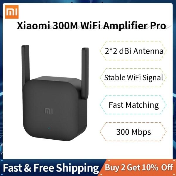 Giá Xiaomi Wifi Amplifier Pro 300Mbps 2.4 Gam không dây với 2*2 dBI Antenna tường cắm Wifi phạm vi Extender tín hiệu cho XiaoMi Router