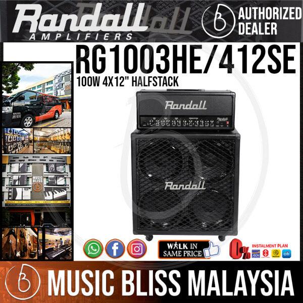 Randall RG Series RG1003HE 100-watt Amp Head with 412SE Stack Cabinet Malaysia