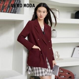 Vero Moda Áo Blazer Nữ Hai Hàng Khuy Có Vòng Eo 321308063 thumbnail