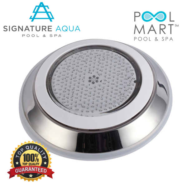 [CLEARANCE SALE] POOL MART Signature Aqua 316 Stainless Steel Wall Mounted LED underwater swimming pool light ( HT002C )