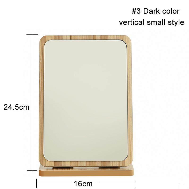Gỗ gấp gọn HD mỹ phẩm có gương Để Bàn vệ sinh kính để bàn sách lớn thước với công chúa gương tốt nhất