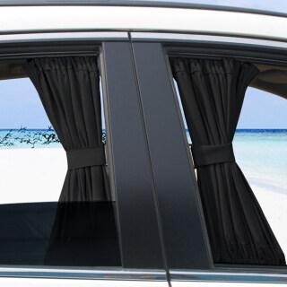 2 Chiếc Rèm Che Nắng Cửa Sổ Bên Hông Chống Tia UV Cho Xe Hơi 50S Rèm Che Nắng Kính Chắn Gió Sau Ô Tô Cho Hầu Hết Các Loại Xe SUV thumbnail