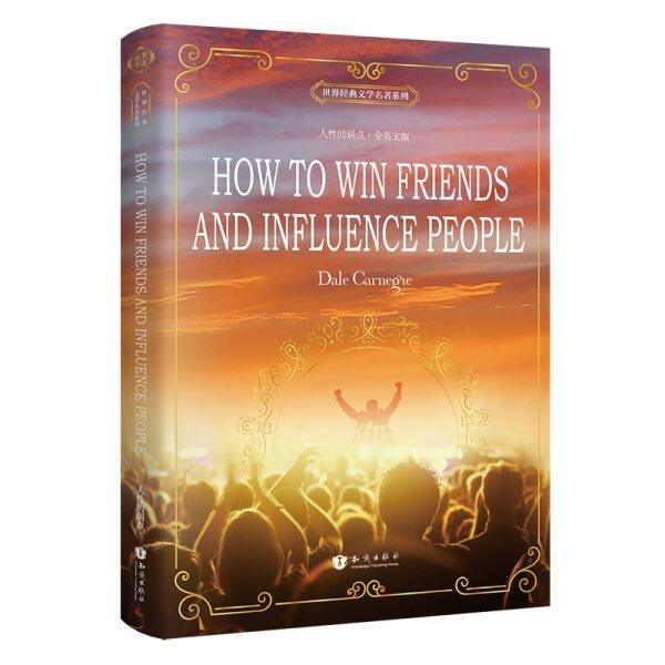 New Arrival How To Win Friends And Influence People English Book For Adult Student Gift World Famous Literature English Original