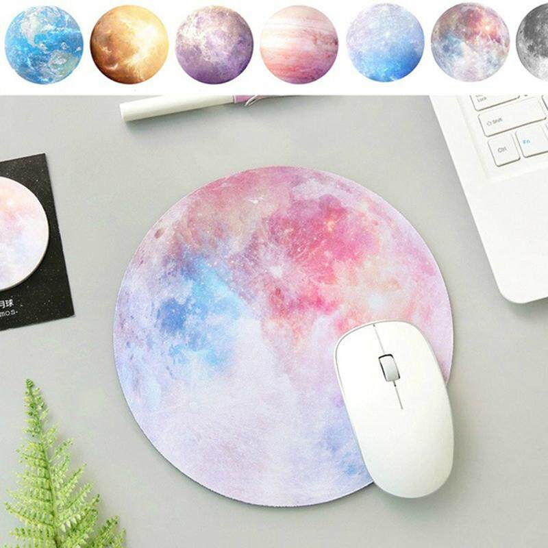 Ultra Soft Natural Rubber Planet Series Round Gaming Mouse Pad By Rainning.