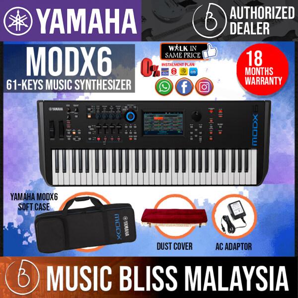 Yamaha MODX6 61-Key Synthesizer with Yamaha ORIGINAL Padded Bag (MODX 6/MODX-6) Malaysia