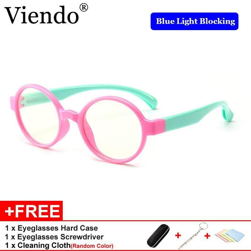 bb938e07042e Viendo 2019 Newest Anti Blue Light Radiation Computer Glasses For Kids  Children Fashion Round Frame Eyeglasses