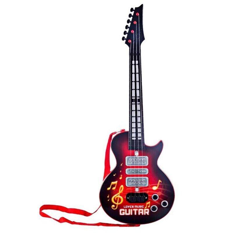 Trẻ Em Guitar, Người Mới Bắt Đầu Đồ Chơi Điện Guitar Cho Bé Trai Bé Gái Trẻ Mới Biết Đi 21 Inch Quà Tặng Âm Nhạc Cho Bé Trai Và Bé Gái