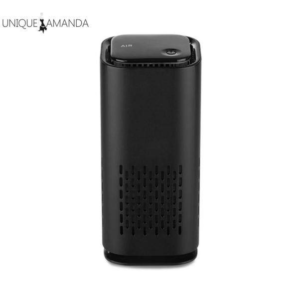 Portable USB Air Purifier Air Freshener Car Fresh Air Negative Ion Odor Removal Home Appliances Singapore