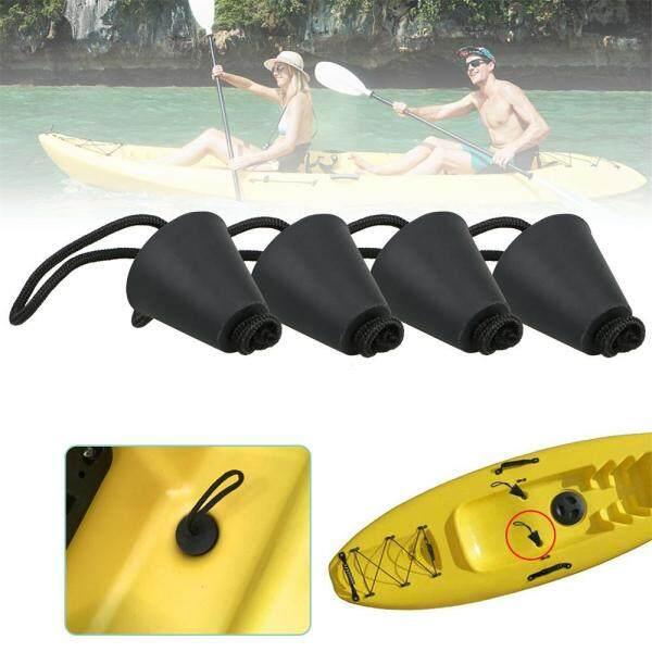4 Cái/bộ Mới Với Dây Kéo Phụ Kiện Phổ Canoe Cống Lỗ Stoppers Kayak Scapper Phích Cắm Cống Lỗ Bung Stopper