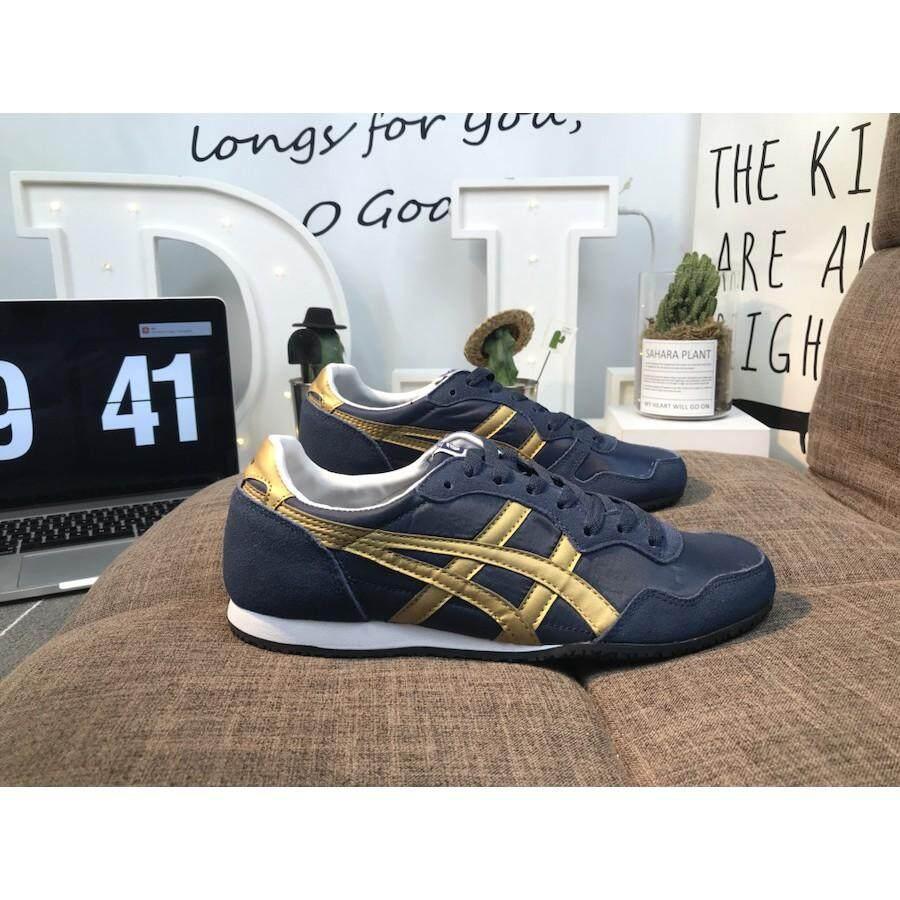 new arrival 7fd32 a3137 Onitsuka Tiger / asics Serrano casual shoes D109L-4632 size 36-44