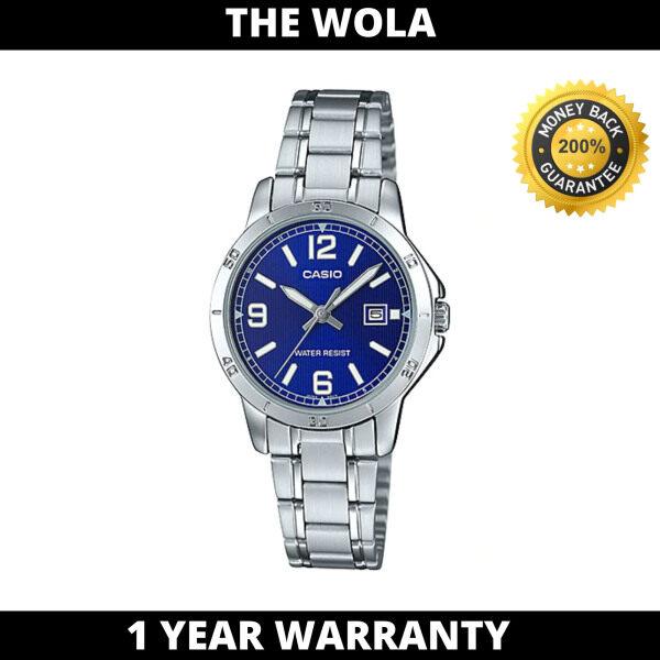 (100% Original CASIO) CASIO Women Casual Watch LTP-V004D-2BUDF (watch for women / jam tangan wanita / Casio watch for women / Casio watch / women watch) Malaysia