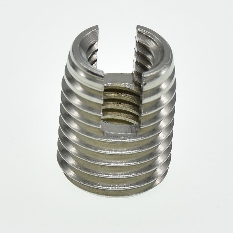 M2 M2.5 M3 M4 M5 M6 M8 M10 M12 stainless steel Threaded Inserts Metal  Thread Repair Insert Self Tapping Slotted Screw Threaded   Lazada Singapore