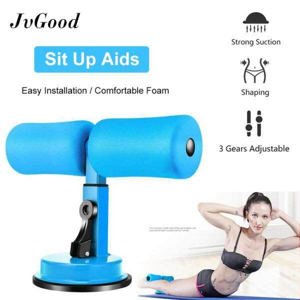 Bảng giá JvGood Sit Up Aids Suction Waist Exercise Fat Fitness Equipment Household Abdominal Suction Disc Type Women Men Sit Up Exerciser Home Fitness Burning Trainer
