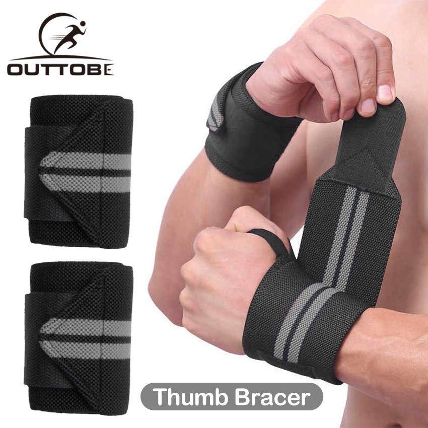 Weight Lifting Wrist Wraps Support Gym Training Straps Bandages