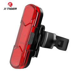 X-TIGER Xe Đạp Đuôi Đèn LED USB Có Thể Sạc Lại