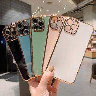 HOCE Ốp Lưng Điện Thoại Bảo Vệ Ống Kính Mạ Cho iPhone 12 Pro Max 11 13 Pro Max X XR XS Max 12 13 Mini 7 8 6 6S Plus SE 2020 Ốp Lưng TPU Mềm thumbnail