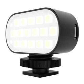 PULUZ Đèn Rọi 16 Hạt Đèn Đèn Chiếu Sáng Di Động Góc 120 Độ Điều Chỉnh Được 7 Màu thumbnail