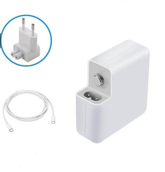 Macbook Pro Charger USB C, 61w Macbook Pro Charger usb-c Power Adapter 13 Touch Bar Macbook Charger Type c PD HP usb c Charger -Connector Type C