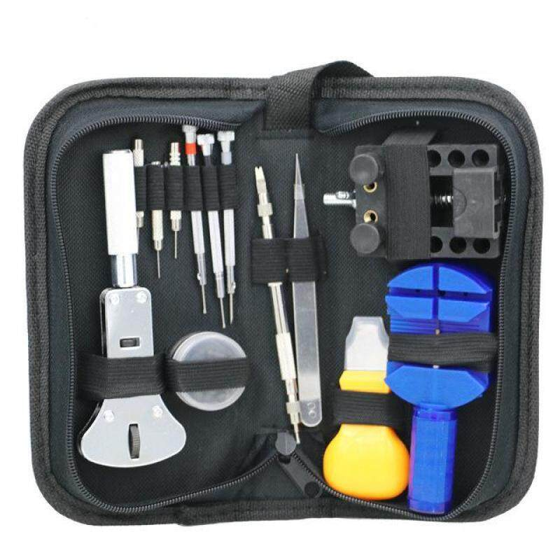 Sale Now!!Good quality 13 - Piece Set Of Table Repair Tool Set Of Table Adjustment Device Steel Band Watch Removal Cut Change Strap Bracelet Regulator Malaysia