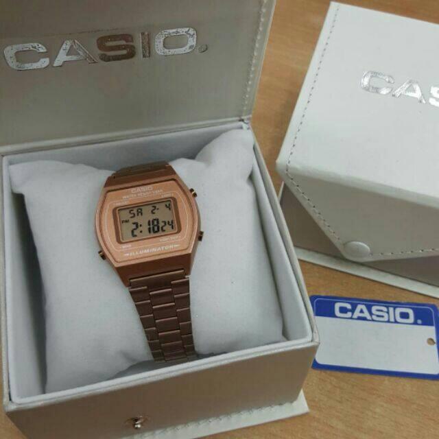 Casio Rose Gold Watch For Women Malaysia