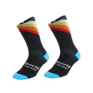 DH SPORTS Pro Best Sports Socks Windproof Warm Weather Tall Cycling Socks Crazy Basketball Running Athletic Defeet Socks thumbnail
