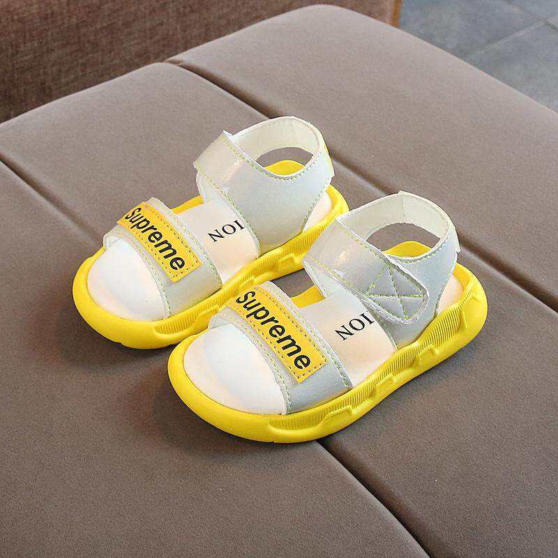 d8abb7ba7c340 Summer New Men's and Women's Shoes Non-slip Beach Shoes Breathable Baby  Shoes (red) (yellow) (purple)